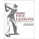 Ben Hogan's Five Lessons Paperback Book