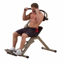 Best Fitness - Semi Recumbent Ab Bench BFAB20