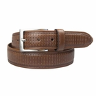 Beverly Hills Polo Club- 35mm Nappa Perforated Feather Edge Belt