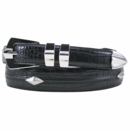 Beverly Hills Polo Club- Croco Embossed Leather Golf Belt