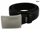 Beverly Hills Polo Club Golf- Nappa PU Feather Edge Belt with Etched Buckle