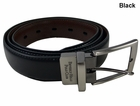 Beverly Hills Polo Club- Pebble Twist Reversible Feather Edge Belt