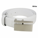 Beverly Hills Polo Club- Plate Buckle Leather Golf Belt
