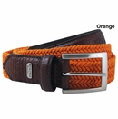 Beverly Hills Polo Club- Waxed Cotton Braid Golf Belt
