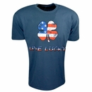 Black Clover Golf American Luck T-Shirt Blue