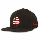 Black Clover Golf- USA Flat Brim Luck Cap