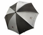 "Black Widow- 62"" Golf Umbrella"