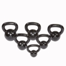 Body Solid Cast Kettle Bell Set Singles 5-30 KBS105