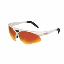 Bolle Golf- Mens Vigilante Sunglasses Shiny White/TNS Fire