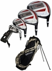 Bullet Golf- .444 Complete Set With Camo Bag Graph/Steel