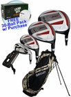 Bullet Golf- .444 Complete Set With Camo Bag Graph/Steel *Free 30-Ball Pack*