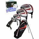 Bullet Golf- .444 Complete Set With Bag Graph/Steel *Free 30-Ball Pack*