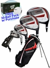 Bullet Golf- LH .444 Complete Set With Bag Graph/Steel *Free 30-Ball Pack* (Left Handed)