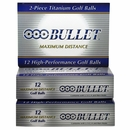 Bullet Golf- Maximum Distance Golf Balls *3-Dozen*