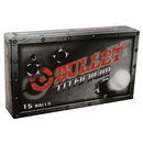 Bullet Golf- Titanium Golf Balls 15-Ball Pack