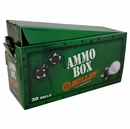 Bullet Golf- Titanium Golf Balls 30-Ball Ammo Box