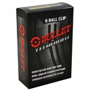 Bullet Golf- Titanium Golf Balls 6-Ball Clip Pack