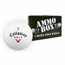 Callaway Golf- Big Bertha Diablo Logo Overrun Ammo Box Golf Balls *3-Dozen*
