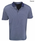 Callaway Golf- Double Fine Line Striped Polo