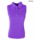Callaway Golf Ladies Opti-Dri Sleeveless Polo