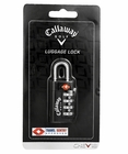 Callaway Golf Travel Sentry Approved 4-Dial Combination Luggage Lock