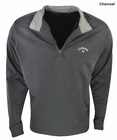 Callaway Golf- Terry 1/4 Zip Mock Pullover