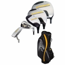 Callaway Golf- Warbird Complete Set With Bag Graphite