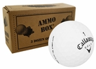 Callaway HEX Black Mint Refinished Used Golf Balls *3-Dozen*