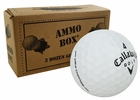 Callaway HEX Chrome Mint Refinished Used Golf Balls *3-Dozen*