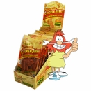 Caveman Foods - Protein Packed Chicken Jerky Spicy BBQ 1oz pouches 12 Pack