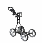 Clever Caddie- Black Motorized Cart With DCF (Lithium Ion Battery)