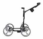 Clever Caddie Golf- 2015 Upright Caddy Motorized Golf Push Cart