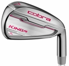 Cobra Golf- Ladies King F6 Combo Irons Graphite