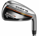 Cobra Golf- LH King F6 Irons Steel (Left Handed)