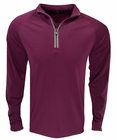 Cutter & Buck Golf- Drytec L/S Sail Half Zip Mock