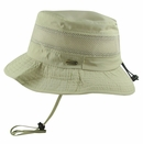 Dorfman Pacific Golf- Stetson No Fly Zone Insect Repellent Mesh Side Boonie Hat