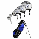 Dunlop Golf- DDH Silver Complete Set With Bag Graphite
