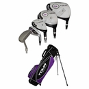 Dunlop Golf- Ladies Tour Revelation Complete Set With Bag Graphite