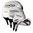 Dunlop Golf- LH Loco Series D Wood/Hybrid Irons Graphite/Steel (Left Handed)
