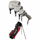 Dunlop Golf- LH Tour Revelation Complete Set With Bag Graphite/Steel (Left Handed)