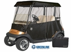 Greenline- 2 Passenger Drivable Golf Cart Enclosure