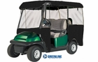 Greenline- 4 Passenger Drivable Golf Cart Enclosure