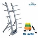 Element Fitness- 10 Set Cardio Pump with Rack