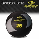 Element Fitness- 25 lbs Commercial Medicine Ball