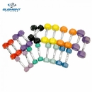 Element Fitness Colored Aerobic Hex Dumbbell Set 2lbs - 12lbs