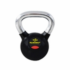 Element Fitness- Commercial Chrome Handle Kettlebells 15 lbs