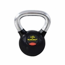 Element Fitness- Commercial Chrome Handle Kettlebells 75 lbs
