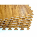 Element Fitness- Wood Finish Interlocking Floor Mats