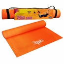 Fitness by Cathe - Rainbow Yoga Mat w/Carry Strap and Exercise DVD