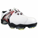 Footjoy Golf- DryJoy Golf Shoes (#53477) **White/Red Size 11.5 Medium Only**